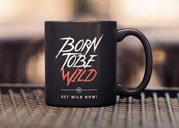 Tasse Born to be wild